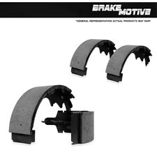 Rear Emergency Parking Brake Shoe Kit For Chevy GMC Cadillac Buick Olds