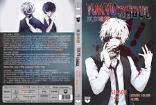 DVD ANIME TOKYO GHOUL Sea 1-2 +Bonus 2 OVA Vol 1-24 End ENGLISH Dub + FREE SHIP