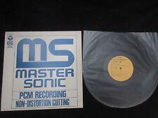 Master Sonic Japan Promo Vinyl LP Steve Marcus Jiro Inagaki Ryo Kawasaki Jazz