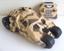Batman U-Command Tumbler Télécommande Batmobile * RARE Camouflage Version *