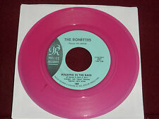 "THE RONETTES ""Walking In the Rain"" Philles 123 Rose Wax!"