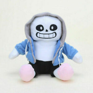 "Undertale Sans Plush Stuffed Doll Toy Pillow Hugger Cushion BirthDay Gift 9"""
