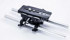 Cinematics Baseplate Support 15mm rail rig for Follow focus matte box DSLR 5D 6D