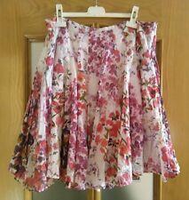 Falda de flores de Smash talla L skirt jupe Rock gonna flowers blumen desigual