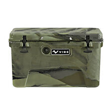 Vibe Element 45Q Roto Molded Cooler Ice Chest with Bottle Openers - Hunter Camo