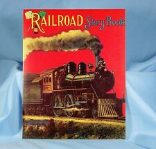 Children's  Story Book Railroad Reproduced From Antique Original Michigan
