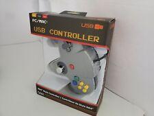 10  NEW Gray N64 Style Retro CIRKA USB Controller Joystick pad for PC/MAC