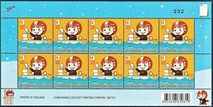 Thailand Stamp 2008 Definitive Stamp - Postman 2 nd Series FS