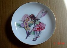 Reutter Porzellan Germany Small Collectors Plate THE FLOWER FAIRIES COLLECTION