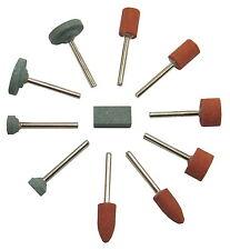 Mini-Schleifsteine, 11-teilig, für Dremel und andere Multitools, Modellbau,