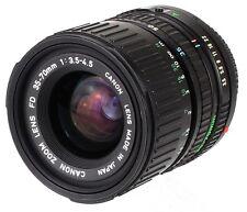 Canon Lens zoom Macro FD f=35-70mm F=3.5-4.5 Mount Canon FD  (Réf#S-080)