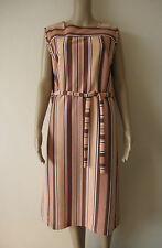 Unbranded Casual Striped Sleeveless Dresses for Women