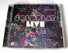COLDPLAY LIVE 2012 CD + DVD 2012 PARLOPHONE