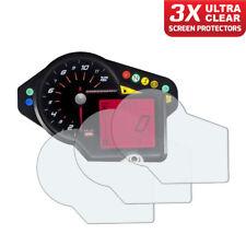 3 x Aprilia Dorsoduro 750 Dashboard Screen Protectors: Ultra-Clear