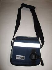 NERVOUS Records Vintage Unisex Bag Shoulder Tote w/Strap  BLUE 7 X 7 X 4 NEW