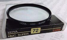 Genuine Hoya HMC SUPER 72mm UV HAZE Lens Safety Protector Filter  72 mm (0)