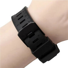 Strap watch band Black rubber Waterproof For LUMINOX RECON/COLORMARK 23MM