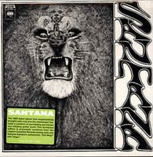 Santana ‎classic 1969 debut Album - FIRST RECORD Remastered Vinyl LP Evil Ways