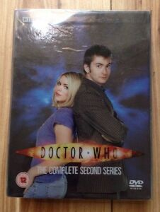 DOCTOR WHO  - THE COMPLETE SECOND SERIES - 6 disc box set Fast Free Post