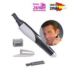 Recortador de vello cortapelos para hombre nariz orejas patillas y cejas