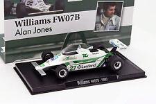 Alan Jones WILLIAMS FW07B #27 Campeón del mundo Fórmula 1 1980 1:43 Altaya