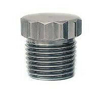 """PSS- 1021 Stainless Steel 12 Point Plug Fitting 1/2"""" NPT Pipe Thread 7/8"""" Long"""