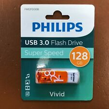 NEW PHILIPS 128 GB Vivid HIGH SPEED USB 3.0 Flash Drive Memory Stick Pen Drive