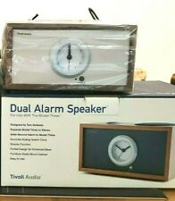 TIVOLI AUDIO Model Three Clock Radio - Companion Speaker Walnut - BNIB
