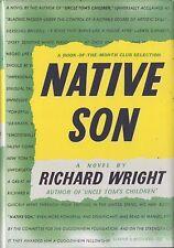 NATIVE SON-RICHARD WRIGHT-1940-1ST EDITION/FIRST PRINTING W/DJ-BEAUTIFUL BOOK!