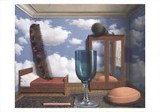 Les valeurs personnelles by Rene Magritte Art Print 2015 Poster 27.5x39.5