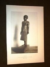 Le Pretre Zai - Statuette en bois Memphite