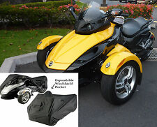 Can-Am Spyder SPORT RS, ST, ST-S Full Cover in Black - All Season Protection