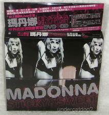 Madonna Sticky & Sweet Tour Concert Taiwan Ltd DVD+CD