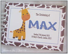 PERSONALISED *1ST BIRTHDAY* NAMING DAY/ CHRISTENING*GUEST BOOK / SCRAPBOOK ALBUM