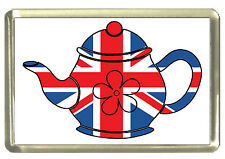 Union Jack Teapot Fridge Magnet - Best of British