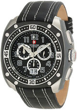 SWISS MILITARY CALIBRE CHRONOGRAPH MEN'S WATCH 06-4F1-04-007 BRAND NEW MSRP $695