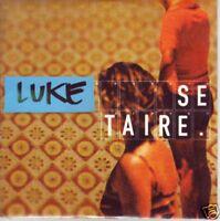 """CD CARTONNE COLLECTOR 1 TITRE LUKE """" SE TAIRE """" DE 2001"""