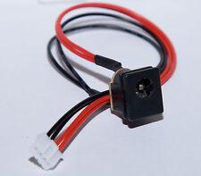 DC Power portátil socket toma de corriente con cable with cable Power Port dc Jack 2mm