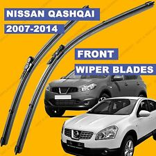 Pinch-Tab Front set Wiper Blade For Nissan Qashqai 2007 2014 reg. models