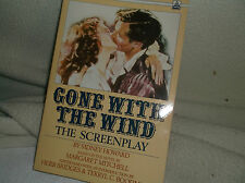 Gone With The Wind The Screenplay Delta Books 1989 PB Sidney Howard Collectable