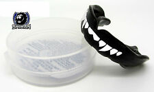 VAMPIRE BLACK 'FANGS' Boxing Gum Mouth Guard Protection Martial Arts -SENIOR