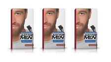 Just For Men Pennello in colore COLORANTE IN GEL per Barba Baffi Capelli Marrone Medio m35
