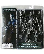 Terminator endoskeleton Battle damaged figura de acción nuevo neca
