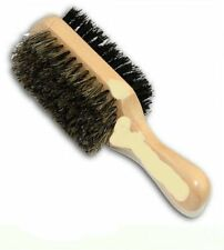 100% Boar and Reinforced Bristles Hard & Soft Two Way Club Brush no:7714
