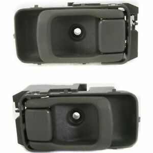 Front OR REAR Set of 2 LH And RH Side Green Interior Door Handle Fits Frontier