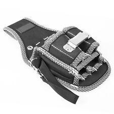 Electricians Waist Pocket Tool Belt Pouch Bag Screwdriver Carry Case Holder