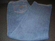 NICE! Baccini Jeans with Embellished Pockets Size 16 P