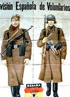 VOLUNTEERS RUSSIA CAMPAIGN WW 2 1942  + FOOD TICKETS BACK ORIGINAL SCARCE