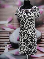 sehr schönes Marccain Kleid  Schurwollle animal Pailetten Gr. N2