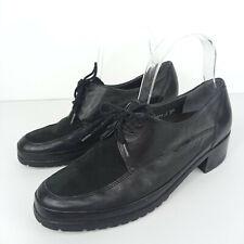 Mephisto Oxfords Women Size 7.5 Leather Black